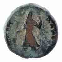 Kushan Dynasty Coin Tetradrachm of Kanishka I- Mao Type