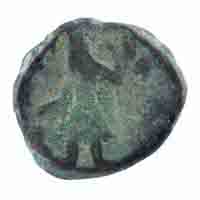 Kushan Dynasty- Tetradrachm of Kanishka I- Oado Type