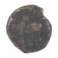 Naga of Padmavati Copper Coin Kakini- Bull type 5