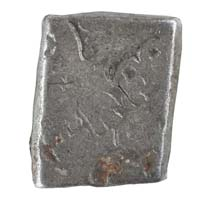 PMC 3 Punch Marked Silver Karshapana Coin of Imperial Magadha Janapada 600 BC-150 BC