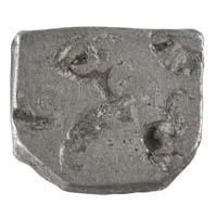 PMC 4 Punch Marked Silver Karshapana Coin of Imperial Magadha Janapada 600 BC-150 BC