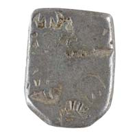 PMC 1 Punch Marked Silver Karshapana Coin of Imperial Magadha Janapada 600 BC-150 BC