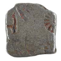PMC 14 Punch Marked Silver Karshapana Coin of Imperial Magadha Janapada 600 BC-150 BC