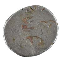 PMC 15 Punch Marked Silver Karshapana Coin of Imperial Magadha Janapada 600 BC-150 BC