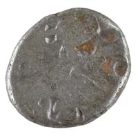 PMC 34 Punch Marked Silver Karshapana Coin of Imperial Magadha Janapada 600 BC-150 BC