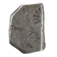 PMC 39 Punch Marked Silver Karshapana Coin of Imperial Magadha Janapada 600 BC-150 BC