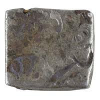 PMC 41 Punch Marked Silver Karshapana Coin of Imperial Magadha Janapada 600 BC-150 BC