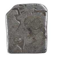 PMC 26 Punch Marked Silver Karshapana Coin of Imperial Magadha Janapada 600 BC-150 BC