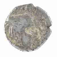 Western Kshatrapas Coin Drachma of Vijaysena