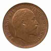 British India King Edward VII Quarter Anna 1904 Calcutta