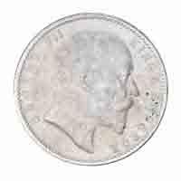 British India King Edward VII One Rupee Coin 1903 Calcutta