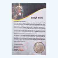 British India King Edward VII One Rupee 1909 Calcutta