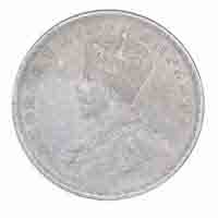 British India King George V One Rupee Coin 1914 Calcutta