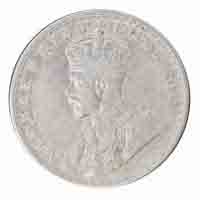 British India King George V One Rupee Coin 1919 Calcutta