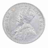 British India King George V One Rupee 1919 Bombay