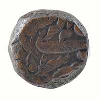 Copper Dam Coin of Akbar Bairat