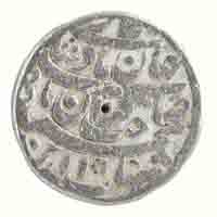 Mughal Dynasty- One Rupee of Shahjahan (Ahmedabad mint)