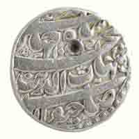 Mughal Dynasty- One Rupee of Shahjahan (Bhakkar mint)