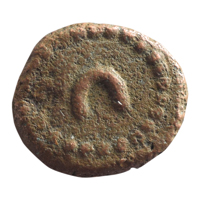 Wodeyars of Mysore Copper Coin Kasu - Numeral issue 1