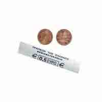 Greece 1 Euro Cent Mint Roll 50 Coins