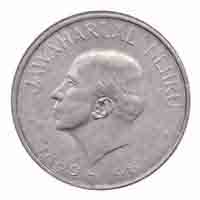 Jawaharlal Nehru 1 Rupee Commemorative Coin Kolkatta - Republic of India