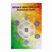 Republic India Coin Card of Aluminium Series