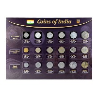 Republic India Aluminium, Copper-Nickel and Steel Coin series