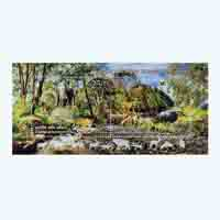 Zoological Survey of India Miniature Sheet Stamp