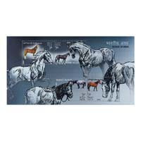Horses Of India Miniature Sheet - 2009