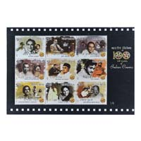 100 Years Of Indian Cinema- Set Of 6 Miniature Sheet - 2013
