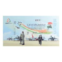 12th Aero India International Show Miniature Sheet - 2019