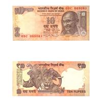 10 Rupees Note of 2013- Raghuram Rajan- L inset