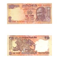 10 Rupees Note of 2014- Raghuram Rajan- B inset