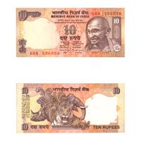 10 Rupees Note of 1997/2003- Bimal Jalan- Q inset