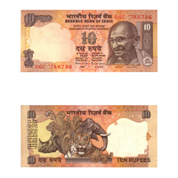 10 Rupees Note of 1997/2003- Bimal Jalan- T inset