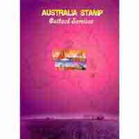 Australia Outback Services Stamps