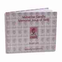 Mahatma Gandhi Memorial Issue Book of 1948