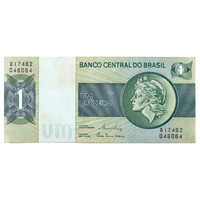 Brazil Currency Note 1 Cruzeiro