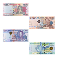 Sierra's Leone 4 Note Set