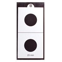Mintage World 2x2 Cardboard Flip Coin Holder 25 mm