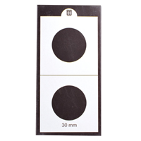Mintage World 2x2 Cardboard Flip Coin Holder 30 mm
