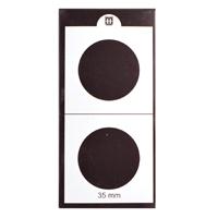 Mintage World 2x2 Cardboard Flip Coin Holder 35 mm