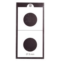 Mintage World 2x2 Cardboard Flip Coin Holder 27.5 mm