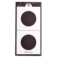Mintage World 2x2 Cardboard Flip Coin Holder 32.5 mm