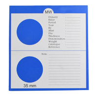 Mintage World 2x4 Cardboard Flip Coin Holder 39.5 mm