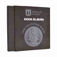 Mintage Coin Collection Album for 2 Rupees Definitive Coins