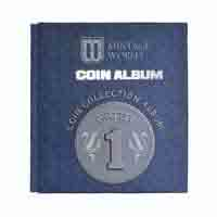 Mintage Coin Collection Album for 1 Rupee Definitive Coins