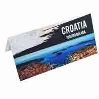 Croatia Banknote 100000 Dinara with Description