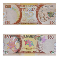 Guyana Currency Note 50 Dollar