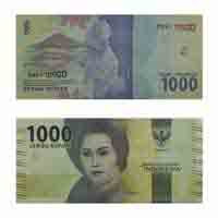 Indonesia  Currency Note 1000 Rupiah